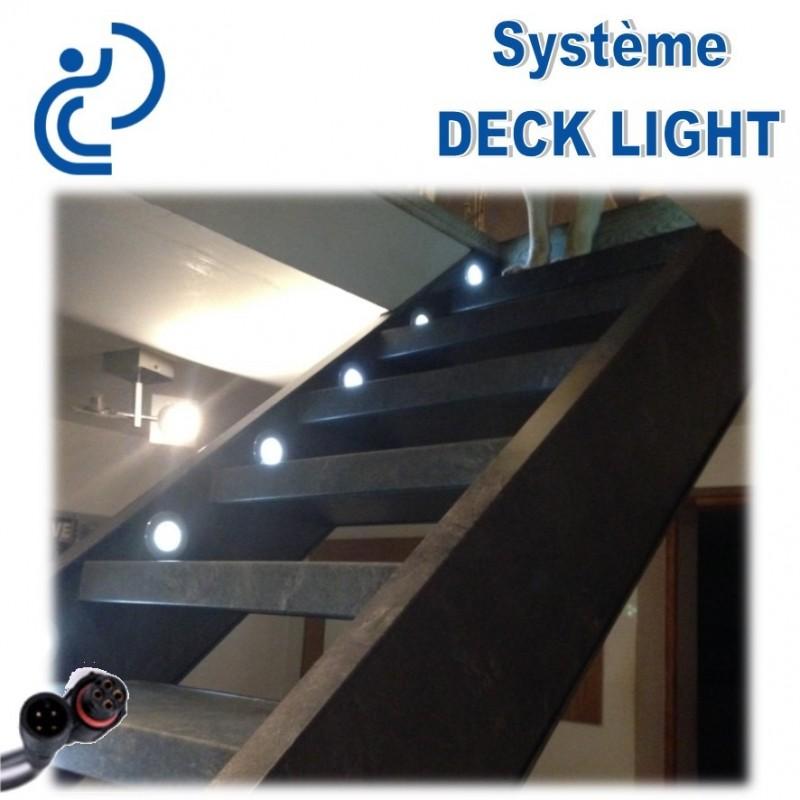 spot de balisage encastrable rgb d32 ip67 deck light. Black Bedroom Furniture Sets. Home Design Ideas