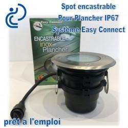 Spot Encastrable Pour Plancher 20W Système Easy Connect