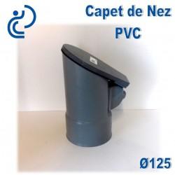 Clapet de Nez Anti refoulement D125 PVC à coller
