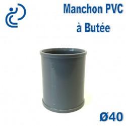 MANCHON PVC A BUTEE D40