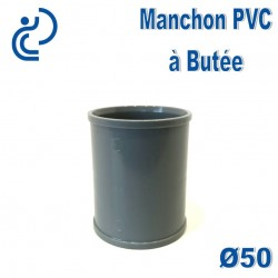 MANCHON PVC A BUTEE D50