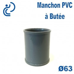 MANCHON PVC A BUTEE D63