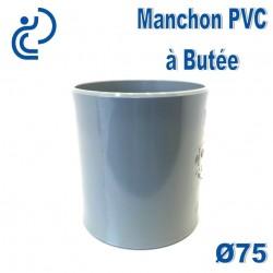 MANCHON PVC A BUTEE D75