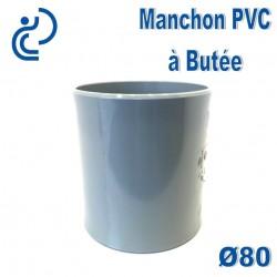 MANCHON PVC A BUTEE D80