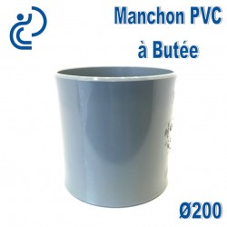 MANCHON PVC A BUTEE D200