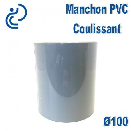 MANCHON COULISSANT PVC D100