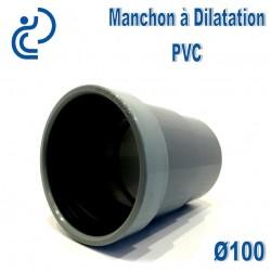 MANCHON DILATATION PVC D100