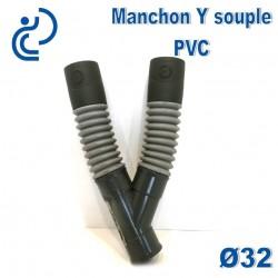 Manchon Souple Y à coller d32