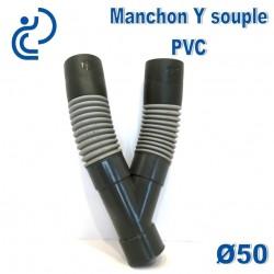 Manchon Souple Y D50 à coller