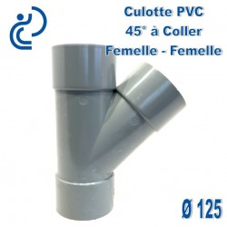 CULOTTE PVC 45° FF D125