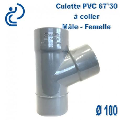 CULOTTE PVC 67°30 MF D100