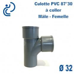 CULOTTE PVC 87.30° MF D32