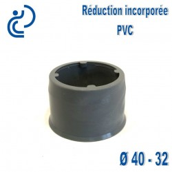 REDUCTION INCORPOREE PVC MF 40 32