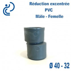 REDUCTION EXCENTREE PVC 40X32 MF