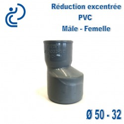 REDUCTION EXCENTREE PVC 50X32 MF