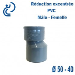 REDUCTION EXCENTREE PVC 50X40 MF
