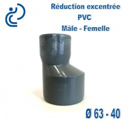 REDUCTION EXCENTREE PVC 63X40 MF