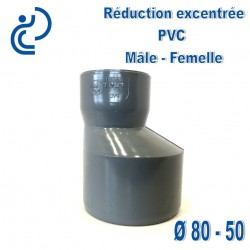 REDUCTION EXCENTREE PVC 80X50 MF