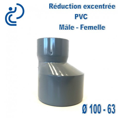 REDUCTION EXCENTREE PVC 100X63 MF