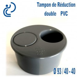 Réduction double PVC 93 40 40