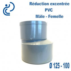 REDUCTION EXCENTREE PVC 125X100 MF
