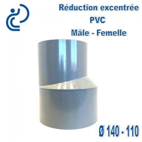 REDUCTION EXCENTREE PVC 140X110 MF