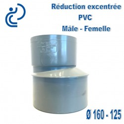 REDUCTION EXCENTREE PVC 160X125 MF