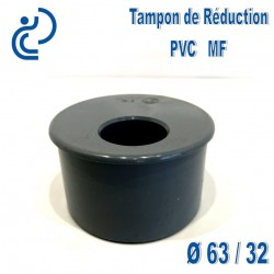TAMPON DE REDUCTION PVC 63X32 MF