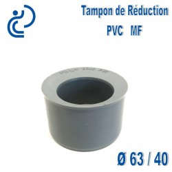 TAMPON DE REDUCTION PVC 63X40 MF
