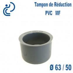 TAMPON DE REDUCTION PVC 63X50 MF