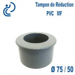 TAMPON DE REDUCTION PVC 75X50 MF