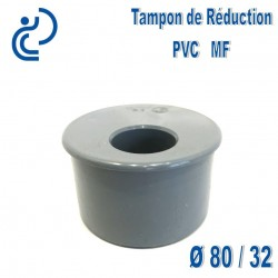 TAMPON DE REDUCTION PVC 80X32 MF