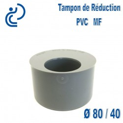 TAMPON DE REDUCTION PVC 80X40 MF