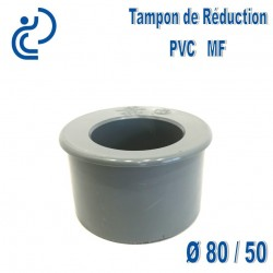 TAMPON DE REDUCTION PVC 80X50 MF
