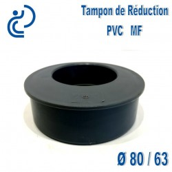 TAMPON DE REDUCTION PVC 80X63 MF