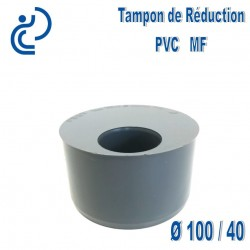 TAMPON DE REDUCTION PVC 100X40 MF