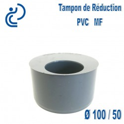 TAMPON DE REDUCTION PVC 100X50 MF