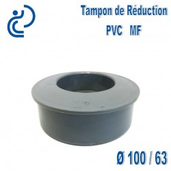 TAMPON DE REDUCTION PVC 100X63 MF