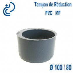 TAMPON DE REDUCTION PVC 100X80 MF