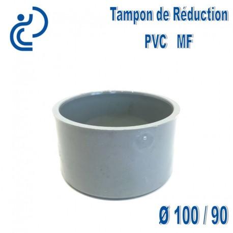 TAMPON DE REDUCTION PVC 100X90 MF