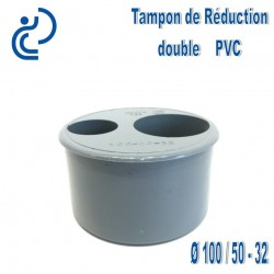 TAMPON DE REDUCTION PVC 100X50X32 MF