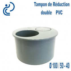 TAMPON DE REDUCTION PVC 100X50X40 MF