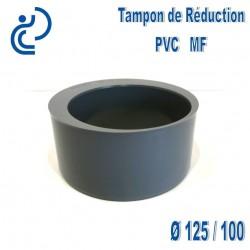 TAMPON DE REDUCTION PVC 125X100 MF