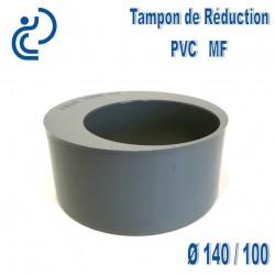TAMPON DE REDUCTION PVC 140X100 MF