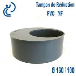 TAMPON DE REDUCTION PVC 160X100 MF