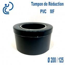TAMPON DE REDUCTION PVC 200X125 MF