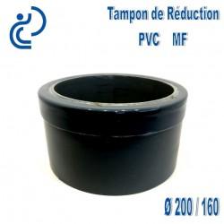 TAMPON DE REDUCTION PVC 200X160 MF