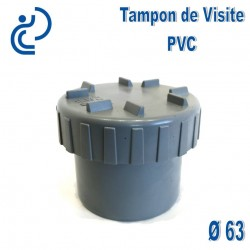 TAMPON DE VISITE PVC D63 M