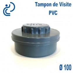 TAMPON DE VISITE PVC D100 M