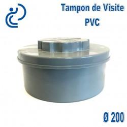 TAMPON DE VISITE PVC D200 M